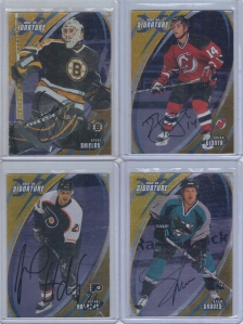 2002-03 BAP Signature Series Autographs Gold